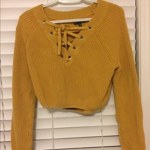 Kendall and Kylie Crop Sweater